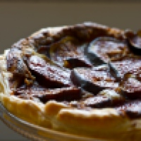 Fig tart - tarte aux figues